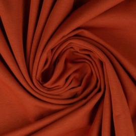 Tricot: effen terracotta per 25cm