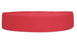 Neon roze elastiek 40 mm per 0,5 meter