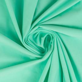 Tricot: effen pastel-mintgroen (Swafing kleur 260) per 25cm