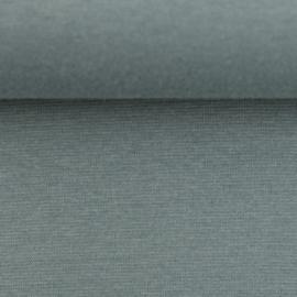 Boordstof: licht oudgroen (Swafing kleur 267 herfst/winter 21-22) Rondgebreid 48 cm. Per 25 cm