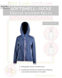 Lillesol & Pelle women Soft-shell jas maat 34 t/m 50