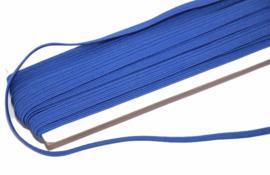 gekleurd elastiek kobaltblauw 6mm, per meter