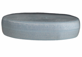 Elastisch band babyblauw 16 mm per 0,5 meter