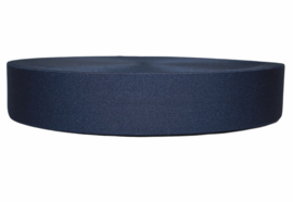 Marineblauw elastiek 40 mm per 0,5 meter