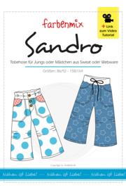 Farbenmix papier patroon Sandro maat 86/92 - 158/164