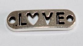 Love opnaaibaar 19x5 mm, per stuk