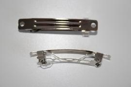 French Barrette clips 6 cm per 10 stuks
