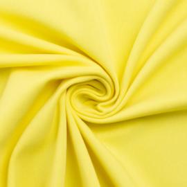 Tricot: effen zonnig geel (Swafing kleur 312 seizoen 2021) per 25cm