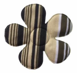 Bloem applicatie 45 mm enige groen gestreept