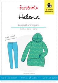 Farbenmix papier naaipatroon Helena trui en legging 34/36 - 50/52
