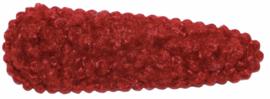 Kniphoesje teddy bordeauxrood 55mm x 20mm