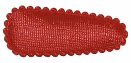 kniphoesje satijn effen rood 3 cm