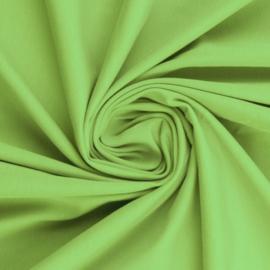 Tricot: effen lichtgroen (Swafing kleur 603) per 25cm