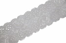 Elastisch kant Off-white 30 mm per 0,5 meter