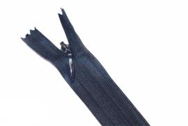 Blinde rits 22,5 cm donkerblauw