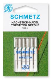 Schmetz topstitch needle (groot oog)