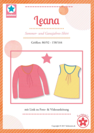 Farbenmix papier patroon Leana 86/92- 158/164