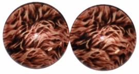 12 mm glascabochon vacht, per 2 stuks