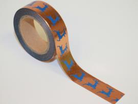 Masking tape copper deer