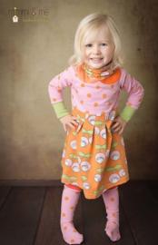 Lillesol & Pelle girls jurk met col Maat 80-164