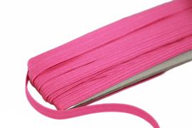 gekleurd elastiek fuchsia 6mm, per meter