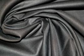 Effen katoen:  zwart (Swafing) per 25 cm