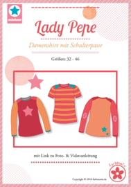 Farbenmix naaipatroon Lady Pepe: voor dames 32-46