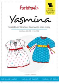 Farbenmix papier patroon Yasmina 86/92- 146/152