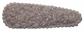Kniphoesje teddy grijs 55mm x 20mm