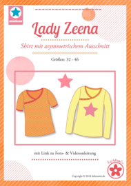 Farbenmix naaipatroon Lady Zeena: voor dames 32-46