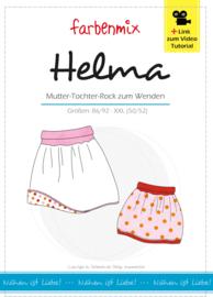 Farbenmix naaipatroon HELMA voor Kinderen (vanaf 86/92) & dames  (tot XXL 50-52)