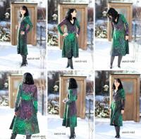 Farbenmix papier naaipatroon jurk Camila maat 32-48