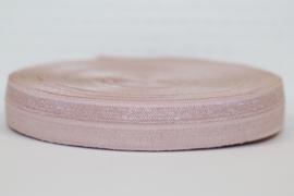 Elastisch band leverkleur 16 mm per 0,5 meter