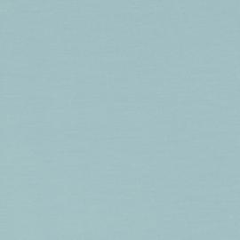 French Terry tricot: pastel lichtblauw, per 25 cm