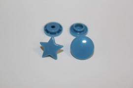 Kam snap STER kleur jeansblauw glanzend per 5 stuks