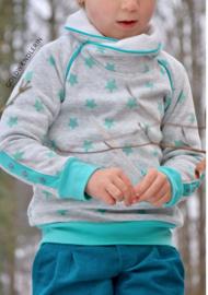 Lillesol & Pelle girl raglan hoodie maat 80-164