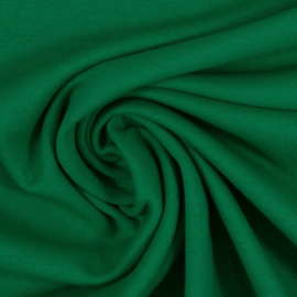 Boordstof: Grasgroen (Swafing kleur 365) Rondgebreid 48 cm. Per 25 cm