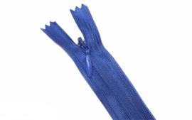 Blinde rits 22,5 cm kobaltblauw