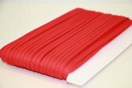 Koord vierkant 5mm rood per meter