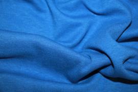 Kobaltblauwe boordstof. Rondgebreid 38 cm. Per 25 cm