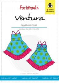 Farbenmix papier patroon jurkje Ventura  86/92 -170/176