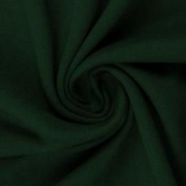 Donkergroene boordstof. Rondgebreid 48 cm. Per 25 cm