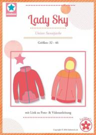 Farbenmix naaipatroon Lady Sky 32-46