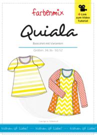 Farbenmix papier naaipatroon  QUIALA dames  34 - 52