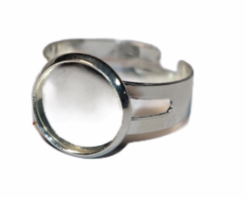 Verstelbare ring dia ca 18 mm,  setting 12mm
