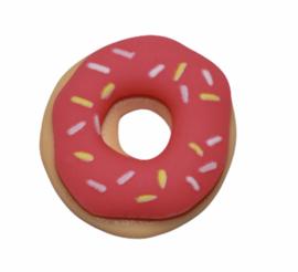 Flatback donut roze, 20x21 mm