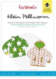 Farbenmix papier patroon KLEIN PELLWORM  74/80 - 146/152