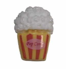 Flatback popcorn 15x20 mm, per stuk