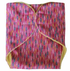 Luiertje babyborn pink & stripes