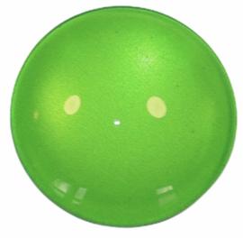 Glascabochon 20mm frisgroen